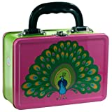 Peacock Metal Lunch Box