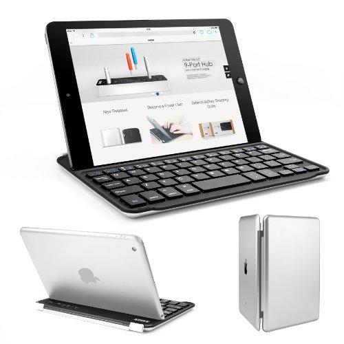 Anker® Ultra-Slim Bluetooth Wireless Aluminum Keyboard Cover For Ipad Mini 2 / Ipad Mini