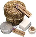Scottish Fine Soaps Highland Aromatics Coorie In Basket Gift Set (Packaging Varies)