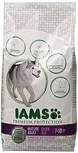 Iams Premium Protection Mature Adult Dry Dog Food, 4.4-Pound