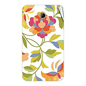 Garmor Designer Mobile Skin Sticker For Lenovo A385E - Mobile Sticker