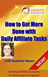 Make More Money with Daily Affiliate Tasklists