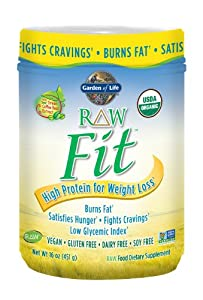 Garden of Life Raw Fit Protein Nutritional Supplement, 451 Gram