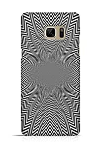 Cover Affair Illusions Printed Back Cover Case for Samsung Galaxy Note 7