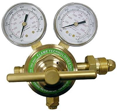 Flame Technologies HPPR-IN-700-580 High Pressure Piston Regulator for Inert Gases (Nitrogen and Argon)