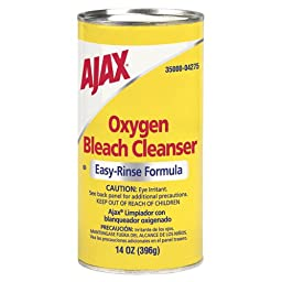 Ajax 04275 14-Ounce Easy Rinse Formula Oxygen Bleach Powder Cleanser (Case of 48)
