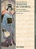 プッチーニ : オペラ「蝶々夫人」/リコルディ社ピアノ・ヴォーカル・スコア