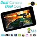 """Goldengulf 9"""" INCH ANDROID 4.2 TABLET PC DUAL CAMERA CPU WM8880 8GB 2014 Newest Version."""