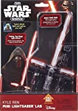 Uncle Milton, Kylo Ren Mini Light Saber, Black and Red