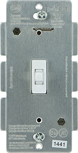 Best Deals! GE 12727 Z-Wave Wireless Lighting Control Smart Toggle Switch, White