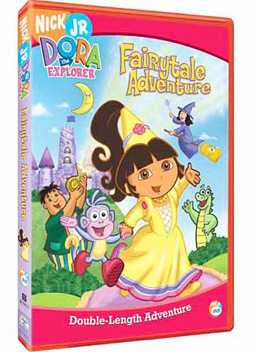 Dora The Explorer - Fairytale Adventure Interactive DVD Game [Interactive DVD]