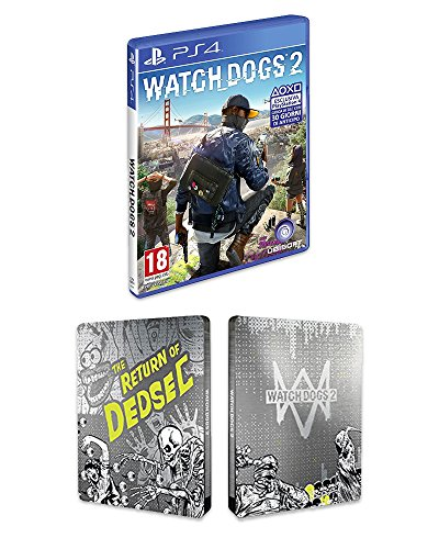 Watch_Dogs 2 + Steelbook Esclusiva Amazon - PlayStation 4