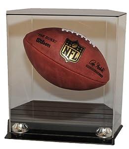 Caseworks Floating Football Display Case by Caseworks