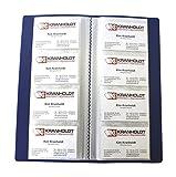EXXO by HFP 24428 Visitenkartenbuch mit eingeschweißten Hüllen