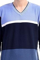 CLUB AVIS USA SWEATER MEN'S N.BLUE/S.BLUE XXL