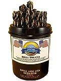"Drill Hog 29 Pc Drill Bit Set Index 1/16""-1/2"" Molybdenum M7 HSS MADE IN USA Lifetime Warranty"