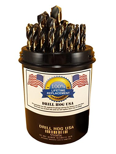 "Drill Hog® 1//4/"" Spade Bit 1//4 Wood Drill Bit Boring HI-Moly M7 Lifetime Warranty"