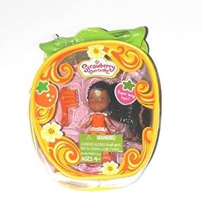 Strawberry Shortcake Mini Doll in Purse - Orange Blossom