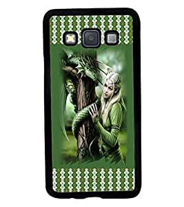 Printvisa 2D Printed Girly Designer back case cover for Samsung Galaxy A3 A300F- D4142