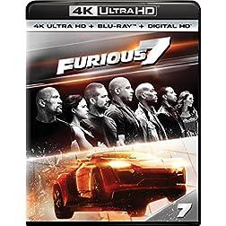 Furious 7 [4K Ultra HD + Blu-ray]