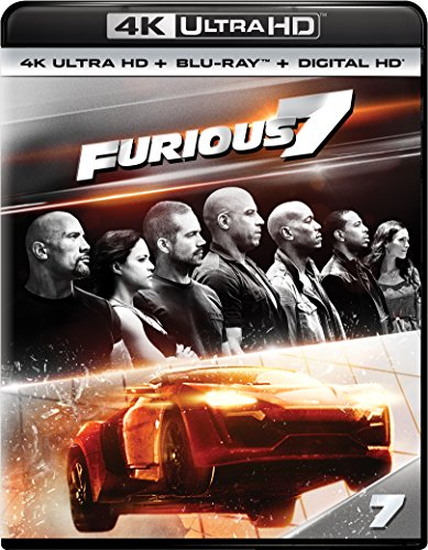 4K Blu-ray : Furious 7 (With Blu-Ray, 4K Mastering, Ultraviolet Digital Copy, Snap Case, Slipsleeve Packaging)