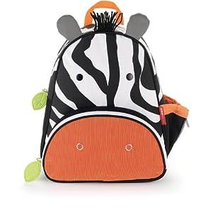Skip Hop Zoo Pack Little Kid & Toddler Backpack, Zax Zebra by Skip Hop