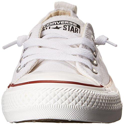 Converse Womens Chuck Taylor Shoreline White Sneaker - 6