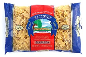 Racconto Mafalda/Mini Lasagna, 12-Ounce Packages (Pack of 12)