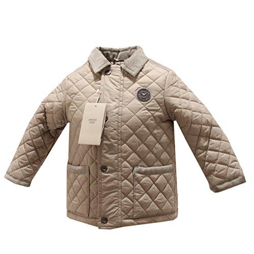 5864P giubbotto trapuntato beige bimbo ARMANI BABY giacche jackets kids [12 MONTHS]