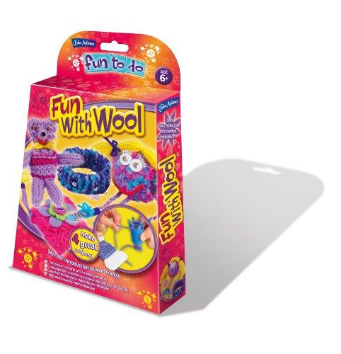 Toy Brokers John Adams Fun To Do - Juego creativo con lana (instrucciones en inglés)