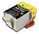 The Ink Squid 1 X Advent 10 Aclr10 Xl Colour High Capacity Compatible Ink Cartridge For Advent A10 Aw10 And Awp10 All-In-One Printers