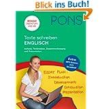 PONS Texte schreiben Englisch: Aufsatz, Textanalyse, Zusammenfassung und Präsentation