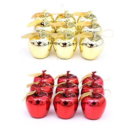 Li クリスマス 装飾 サンタクロース ウォールステッカー 子供部屋 花輪 リボン 幼稚園 お遊戯 教室 カラーバー りんご リンゴ