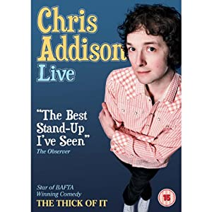 Chris Addison Live Performance