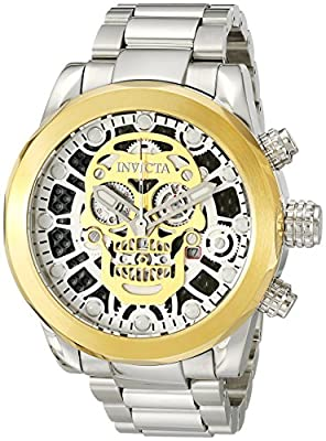 Invicta Men's 18864 Corduba Analog Display Swiss Quartz Silver Watch