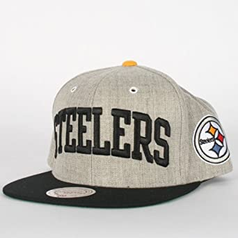 Mitchell and Ness - Pittsburg Steelers Wool Hat in Main Team Color by Mitchell & Ness