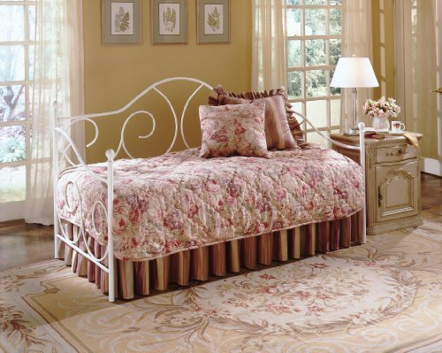 White Daybed Bedding front-634372