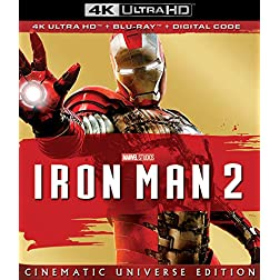 IRON MAN 2 [4K Ultra HD + Blu-ray]