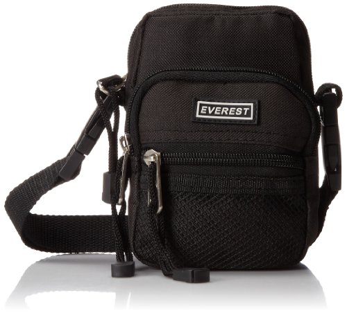 Everest Trading CM5D-BK 6 Camera Bag with Detachable Shoulde