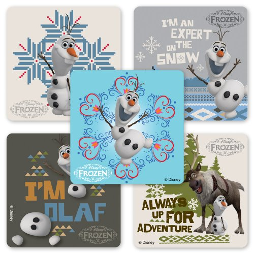 Disney Frozen Olaf Stickers - 75 Per Pack