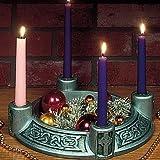 """Celtic Green"" Advent Wreath"