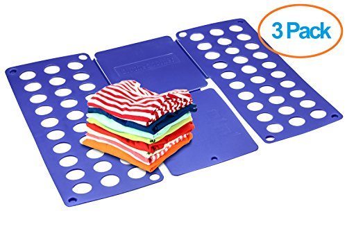 Foldplex Flipfold Shirt Folder Tshirt Folder Folding Board (3 Pack)