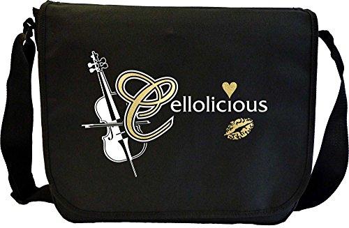 Cello Cellolicious Kiss - Sheet Music Document Bag Borsa Spartiti MusicaliTee