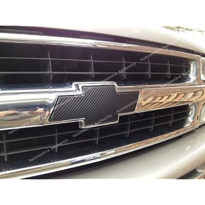 Chevrolet Silverado 99-02 00 01 : Black Carbon Fiber Bowtie Emblem