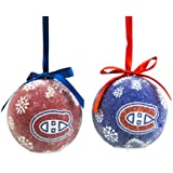 Montreal Canadiens Led Boxed Christmas Ornament Set