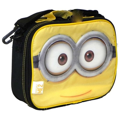 5a851eb2b2db Despicable Me 2 Minion Lunch Bag Insulated Box Yellow black ...