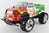 Radio Control RED DRAGON 1:10 Scale 9.6v licensed monster truck