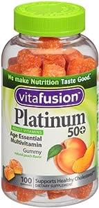 Vitafusion Platinum Gummy Vitamins, 100 Count
