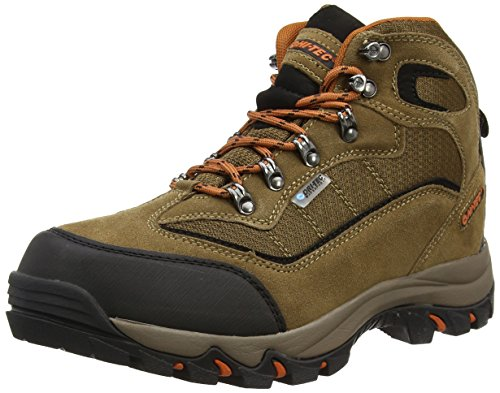Hi-Tec  Keswick Waterproof,  Scarpe da camminata ed escursionismo uomo Marrone Marron (smokey Br/burnt Orange 041) 42 EU