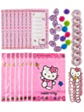 Amscan Hello Kitty Party Favors Value Pack, 48-Piece